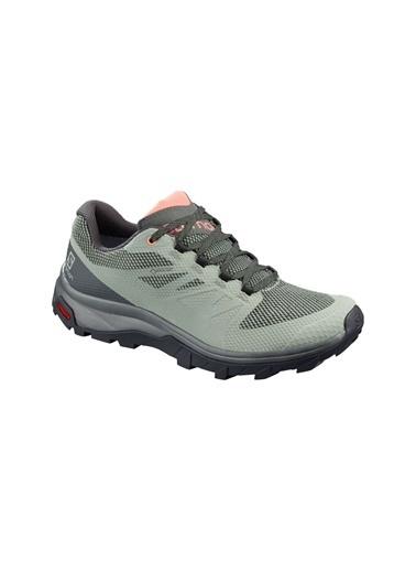 Salomon Outline Goretex  Kadın Ayakkabı  L40796900 Yeşil